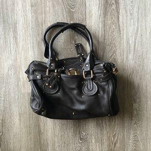 Chloe Paddington Brown Leather Satchel Purse